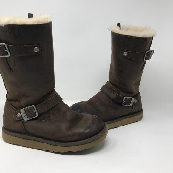 cheap ugg kensington biker boots